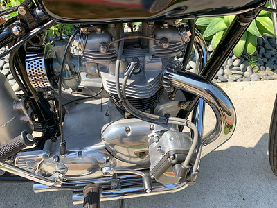 Triumph TR6 Bobber on Iconic Motorbike Auctions
