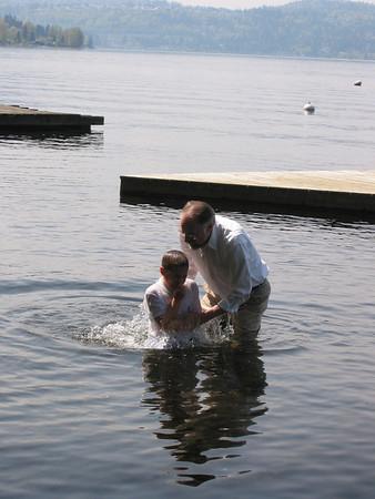 Jacob Hamilton's Baptism