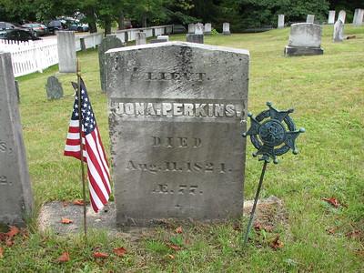Jonathan Perkins Grave