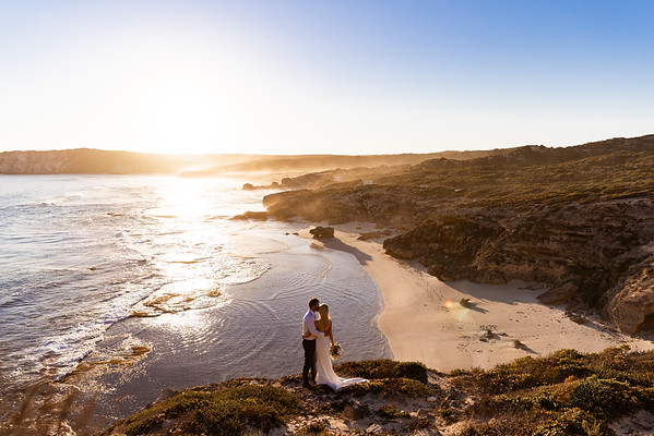 Shauna and John - Destination Wedding Kangaroo Island