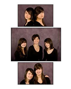 Lauren, Sara & Nancy composites