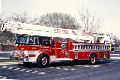 MATTESON FIRE DEPARTMENT