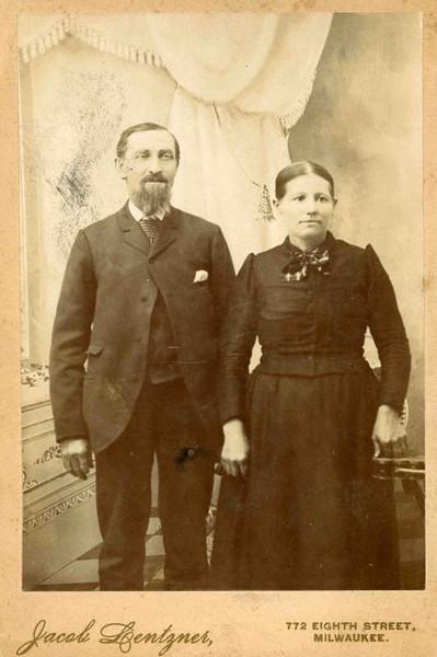 Fredrick Charles and Augusta (Eisentraut) Herdrich