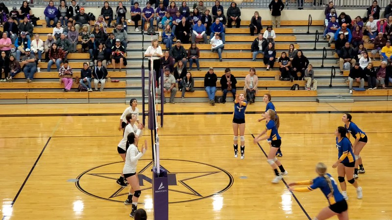 MHS vs Bloomfield Volleyball 10-29-2019