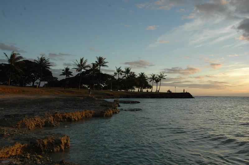 Hawaii - Ala Moana Beach Sunset-34.JPG