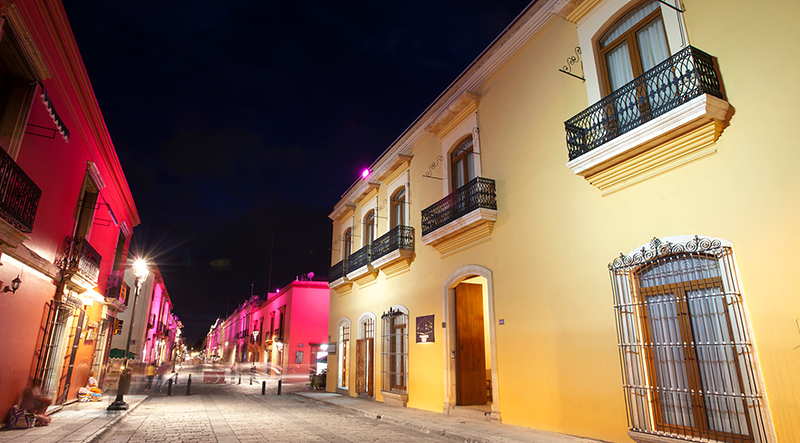Oaxaca at Night, Dave Millers Mexico