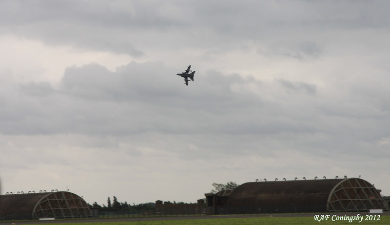 Tornado fly by at RAF Coningsby Air Base