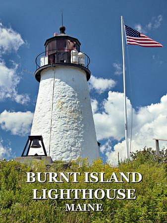 Burnt Island Lighthouse, Maine