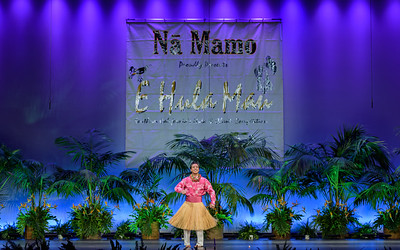 2019 E Hula Mau - Mel Solo Peformance No. 2