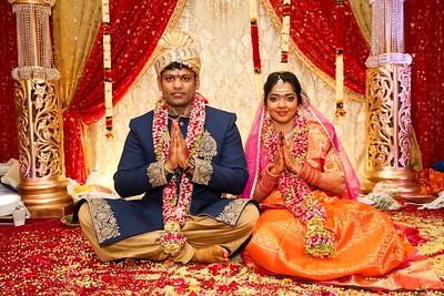Wedding Ceremony of Laxman and Sruthi