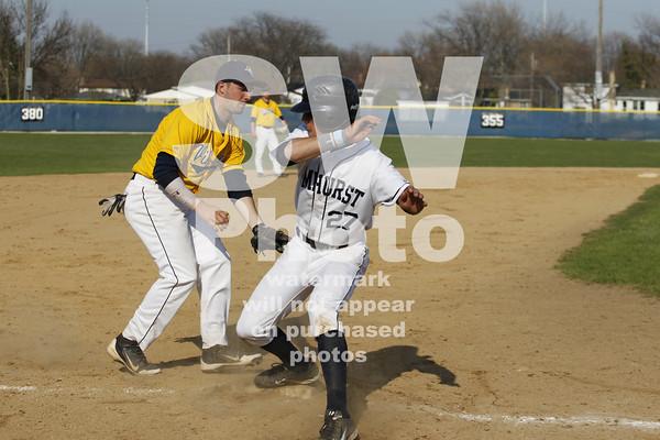 4.28.2013 - Augustana Baseball at Elmhurst