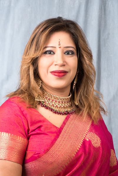 Shahnaj Alam - Studio Portraits - August 14, 2018