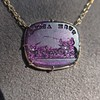 'Push Along' Purple Glass Pendant, by Seal & Scribe 14