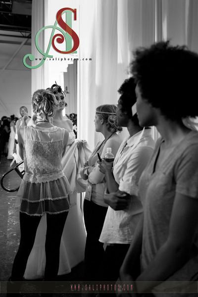 CLT Fashion Week - Bridal Wear - Back Stage