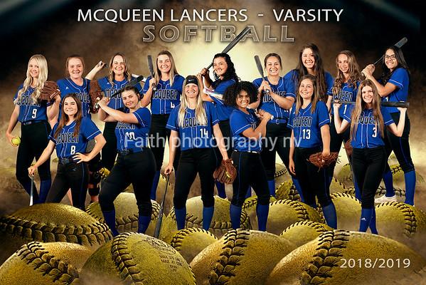 McQueen Softball 2019