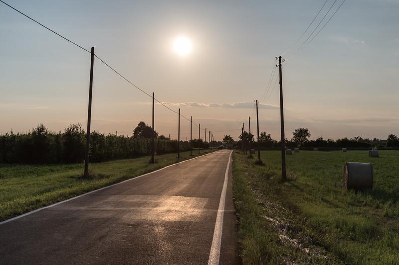 Sunset - Nonantola, Modena, Italy - May 27, 2015
