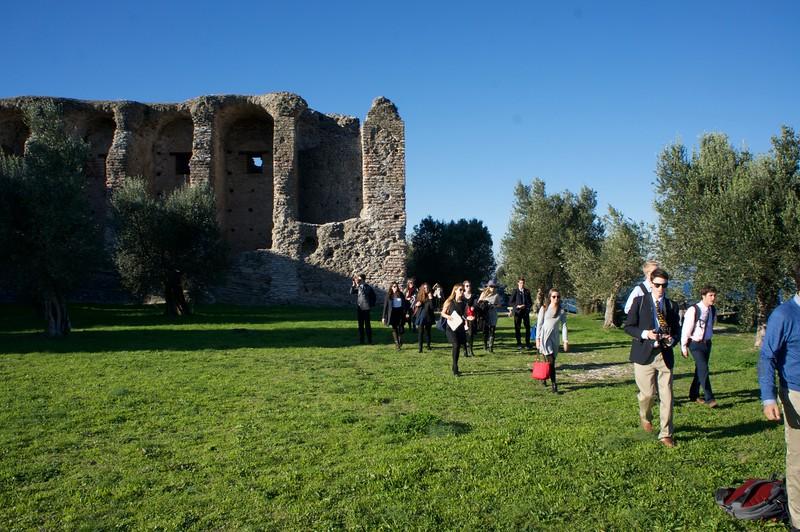 Sirmione and the Roman ruins of Grotto di Catulla