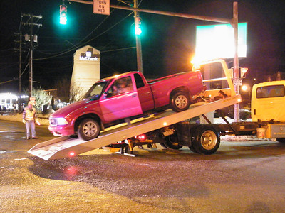 Five Points Two Vehicle Accident, Tamaqua (2-26-2010)