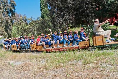1254 Boy Scouts Steamer Trains