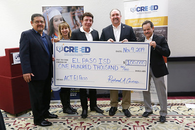 CREEED supports El Paso ISD dual-credit efforts