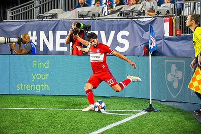 NE Revs vs. Chicago Fire 8.24