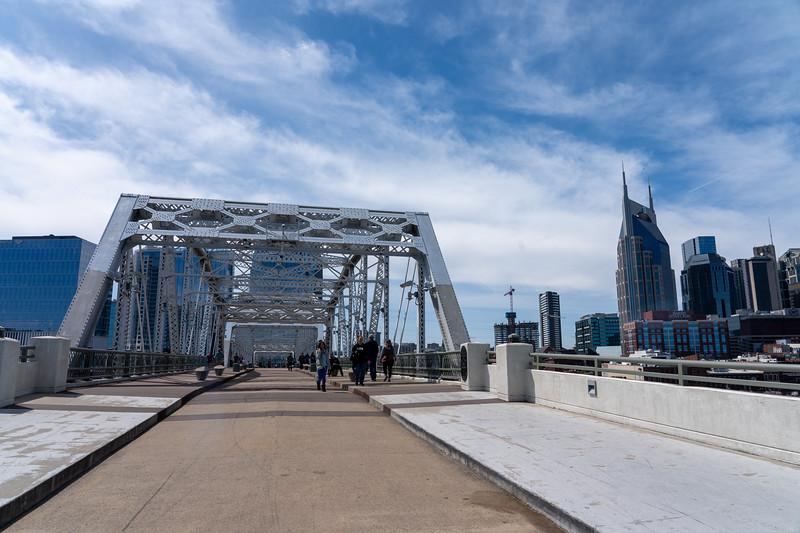 John Seigenthaler Pedestrian Bridge in Nashville