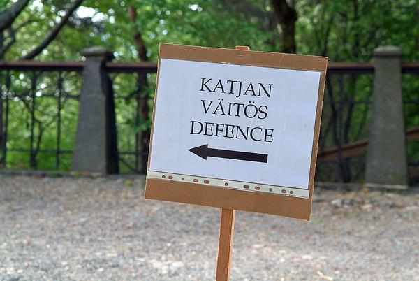 2006-05-26 The Katja Ilmarinen Defence
