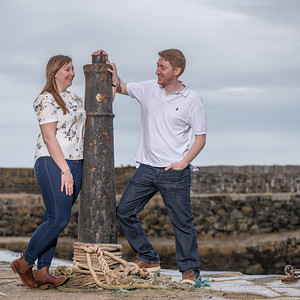 Louise & Pete's Portsoy photo shoot