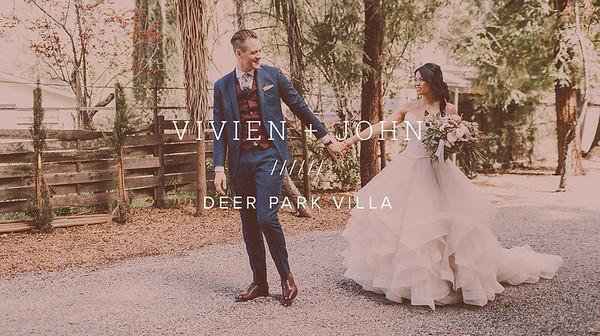 VIVIEN + JOHN ////// DEER PARK VILLA