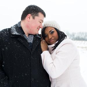 Chris & Maya's Engagement Portraits