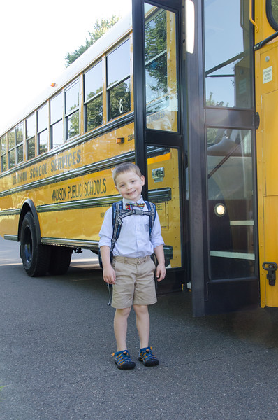 Gabe's First Day of Kindergarten