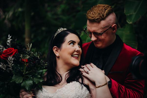 Wedding day at Rainforest Gardens Mt.Cotton