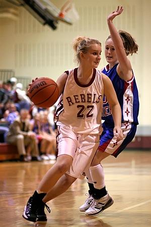 SNHS Girls Basketball vs TC 2008