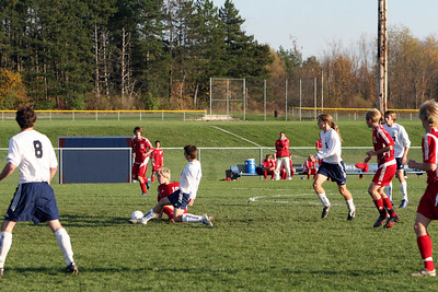 Boys Varsity Soccer - 2006-2007 - 10/25/2006 Regionals Petoskey