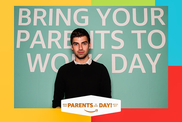 """Amazon """"Bring Your Parents to Work Day"""" -  Holborn"""