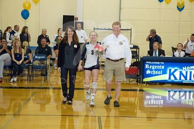 2013-10-08 Senior Night Volleyball