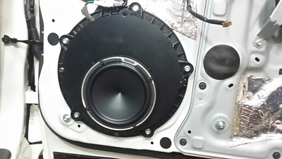 2011 Infiniti G37S With Bose System Front Door Speaker Installation - USA