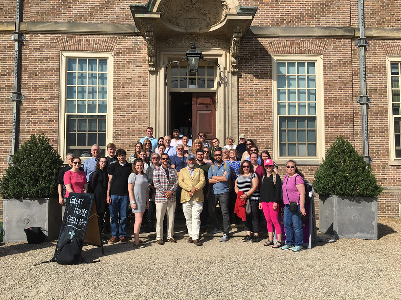 6. Staff group photo at Crane Estate