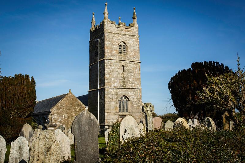 Church at Tintagel, Cornwall