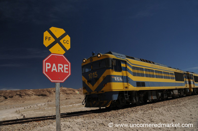 Bolivian Freight Train
