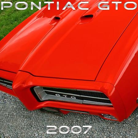 2007 GTO Calendar