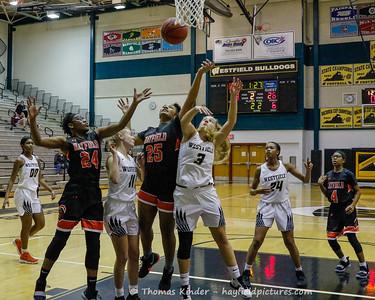 Girls Varsity Basketball v Westfield 12/27/18