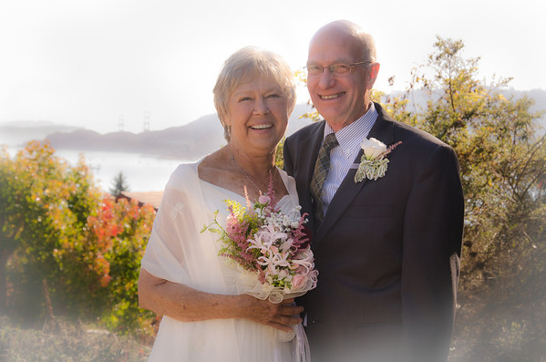 Lois and Frank, Community Congregational Church, Tiburon
