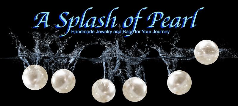 A Splash of Pearl - Creative Header