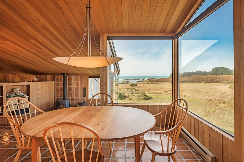 Dining Room with White Water Views of Shell Beach