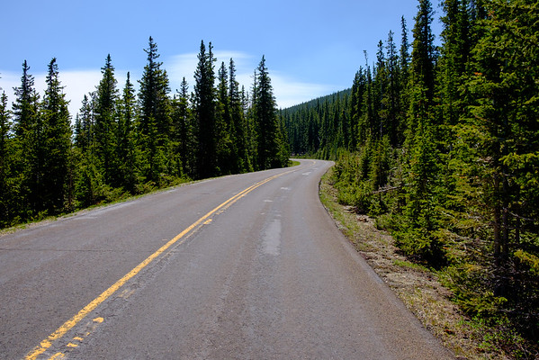 Mt. Evans Ride on a Closed Road