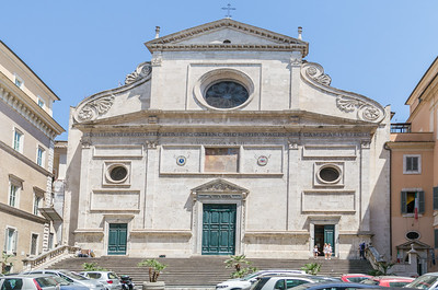 Basilica di Saint Agostino, Rome, Italy