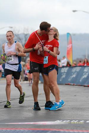 2012 Rocket City Marathon Finishline