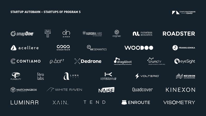 STARTUP AUTOBAHN_Startups_Program 5