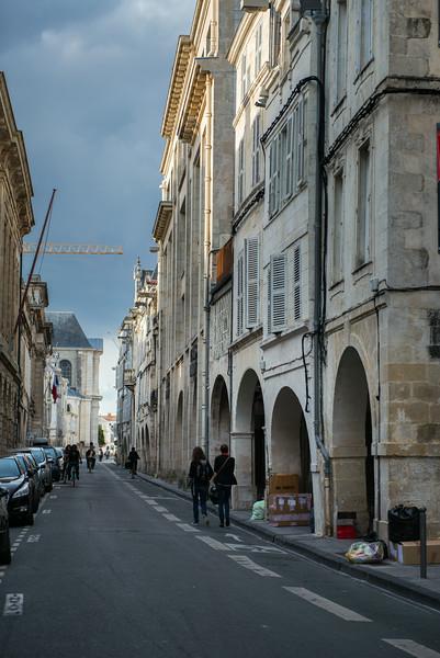 Street in La Rochelle